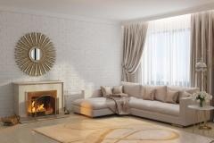 Living room modern luxury rug
