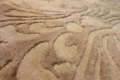 Detail viscose and wool