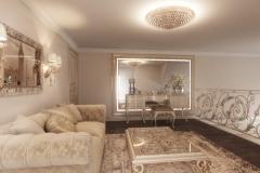 Pure silk for private villa in Ukraine