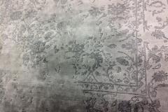silk carpet detail