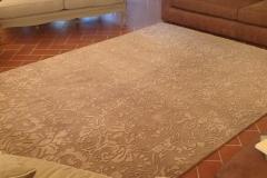 viscose carpet detail